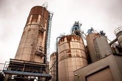 Industrieller Silo Lizenzfreie Stockfotos