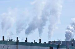 Industrieller Smokestack Stockfotografie