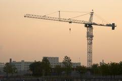 Industrieller Sonnenaufgang Lizenzfreie Stockfotografie