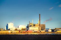Industrieller Standort Lizenzfreie Stockfotos