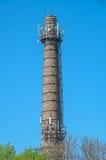 Industrieller Stovepipe Stockfotos
