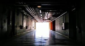 Industrieller Tunnel Athen Griechenland Stockfotografie
