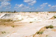 Industrielles Ausarbeiten der Formung des Sandes Stockfoto