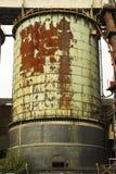 Industrielles Becken Stockfoto