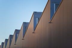 Industrielles Dach stockbild