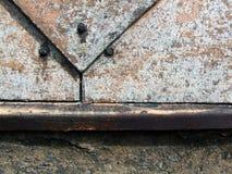 Industrielles Detail des alten Aufbaus lizenzfreie stockfotos