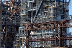 Industrielles Fabrikineinander greifen leitet Beschaffenheit Lizenzfreies Stockbild