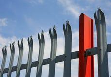Industrielles Fechten Lizenzfreie Stockfotos