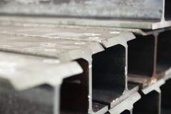 Industrielles Foto von I-beam Lizenzfreie Stockfotos