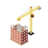 Industrielles Gegenstände isometrics Lizenzfreie Stockbilder