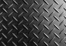 Industrielles glänzendes Metall mit Rautenformen Lizenzfreies Stockfoto
