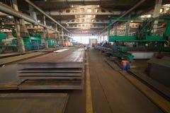 Industrielles Konzept Industriellen Schichten Metall für das Konstruieren stockbild