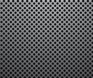 Industrielles metallisches nahtloses Muster Stockfotografie