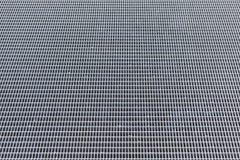 Industrielles Metallrasterfeld Stockbilder