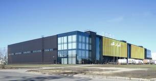 Industrielles, modernes Gebäude, Stockfotografie