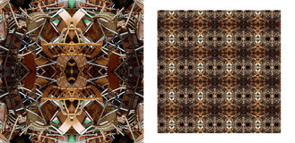 Industrielles Muster Stockfoto