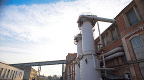 Industrielles Rohr Stockfoto