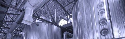 Industrielles Rohr Stockbild