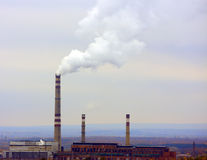 Industrielles Rohr lizenzfreie stockbilder
