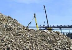 Industrielles Stadterneuerungprojekt des Aufbaus Lizenzfreies Stockbild