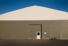 Industrielles Standortgebäude Stockfotografie