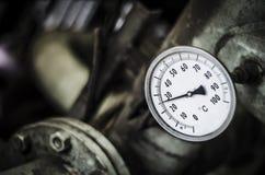 Industrielles Temperaturmessgerät Lizenzfreie Stockbilder