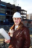 Industrielles Thema: Architekt. lizenzfreies stockfoto
