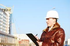 Industrielles Thema: Architekt. stockfoto