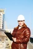 Industrielles Thema: Architekt. lizenzfreie stockfotografie