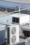 Industrielles Ventilationssystem Stockbild