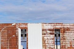industriellt övergivet byggande Royaltyfri Foto