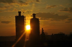 industriellt Royaltyfri Foto