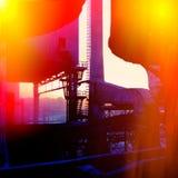industriellt avstånd Royaltyfri Foto