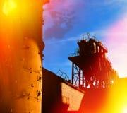 industriellt avstånd Arkivfoton
