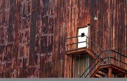industriellt bakgrundstillträde arkivfoton