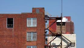 industriellt byggande Arkivfoton