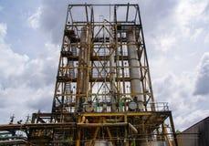 industriellt byggande Arkivbild