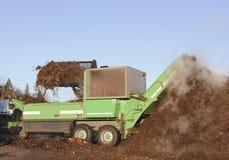 industriellt compostbruk Royaltyfri Fotografi