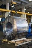 Industriellt driva elektrisk kabel Royaltyfri Bild