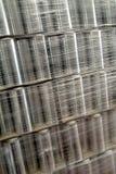 industriellt emballage royaltyfria bilder