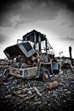 industriellt förfall 2 Fotografering för Bildbyråer
