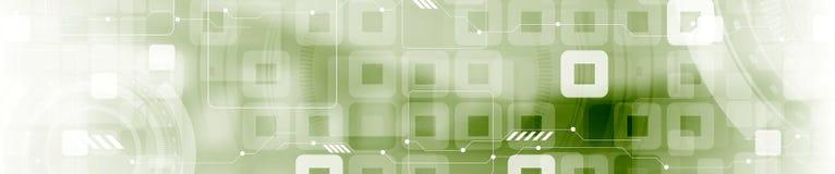 Industriellt geometriskt rengöringsdukbaner för abstrakt tech royaltyfri illustrationer