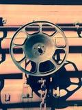 industriellt hjul Arkivbild