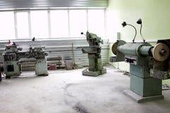 industriellt inre gammalt Fotografering för Bildbyråer