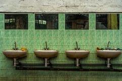 Industriellt klapp på väggen Royaltyfri Foto