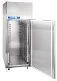 Industriellt kylskåp för fristående kaféer och restauranger Arkivfoton
