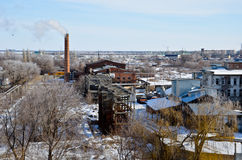 Industriellt landskap 2 Royaltyfri Bild