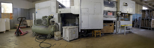 industriellt maskineri Arkivfoton