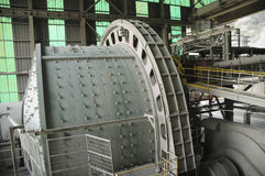 Industriellt maskineri - bollen maler Royaltyfri Bild