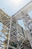 Industriellt material till byggnadsställning Royaltyfri Bild